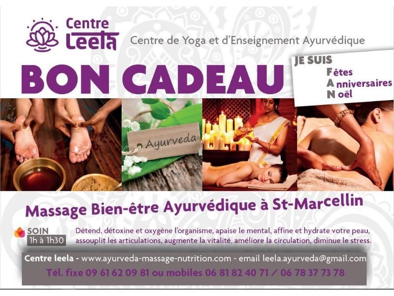 Centre leela - Bon cadeau - Massage ayurvédique